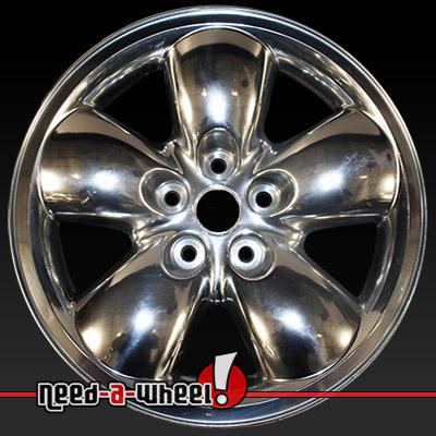 2002 2004 dodge ram wheels for sale polished rims 2167. Black Bedroom Furniture Sets. Home Design Ideas