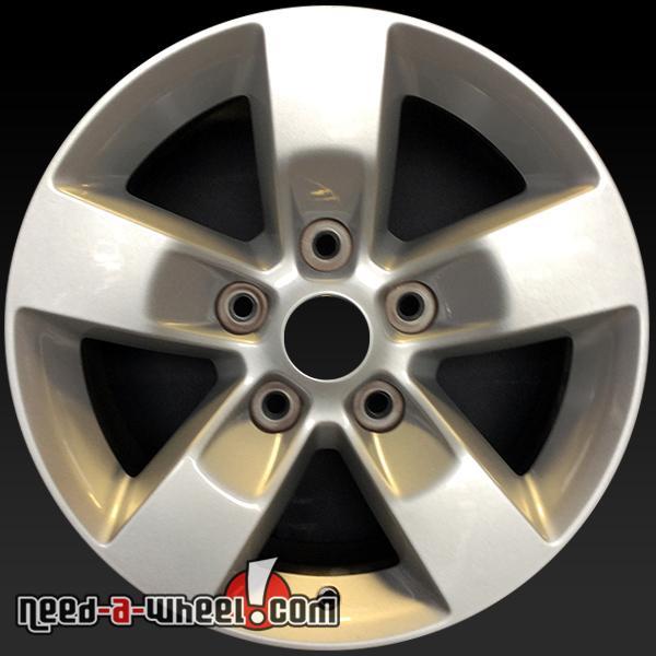 17x7 dodge ram 1500 oem wheel 13 14 15 silver stock rim. Black Bedroom Furniture Sets. Home Design Ideas