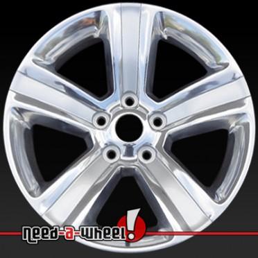 2013 dodge ram wheels polished silver 20 rims 2453. Black Bedroom Furniture Sets. Home Design Ideas