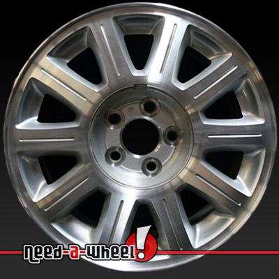 2000 2003 lincoln continental wheels for sale machined rims 3409. Black Bedroom Furniture Sets. Home Design Ideas
