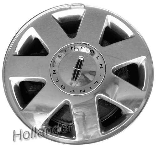 2002 lincoln ls wheels machined silver 16 rims 3477. Black Bedroom Furniture Sets. Home Design Ideas