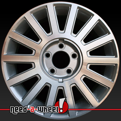 2003 2005 lincoln town car wheels for sale machined rims 3504. Black Bedroom Furniture Sets. Home Design Ideas