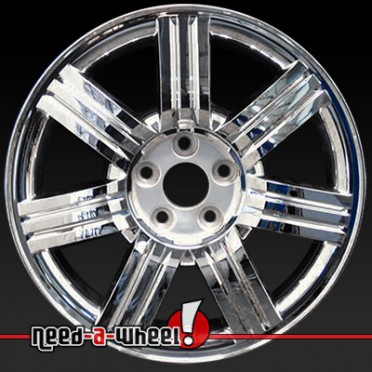 18x7 ford taurus wheels for sale 08 09 chrome rims 3695. Black Bedroom Furniture Sets. Home Design Ideas