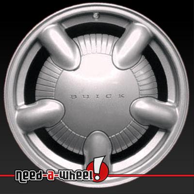 2000 2001 buick lesabre wheels sparkle silver rims 4033. Black Bedroom Furniture Sets. Home Design Ideas