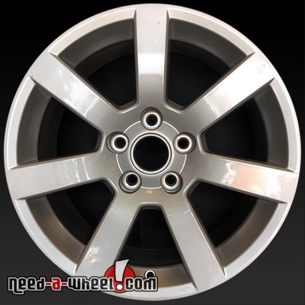 """14 Cadillac Ats: 17x8"""" Cadillac ATS OEM Wheel 13 14 15 16 Silver Factory Stock Rim 4701 #22921890"""