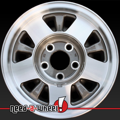 1992 1999 chevy blazer wheels for sale machined rims 5016. Black Bedroom Furniture Sets. Home Design Ideas
