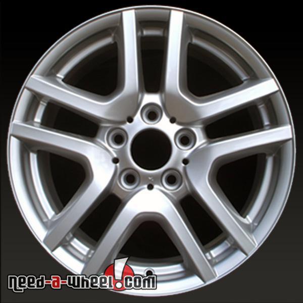 17x7.5 BMW X5 OEM Wheel 02 03 04 05 06 Silver Alloy Stock