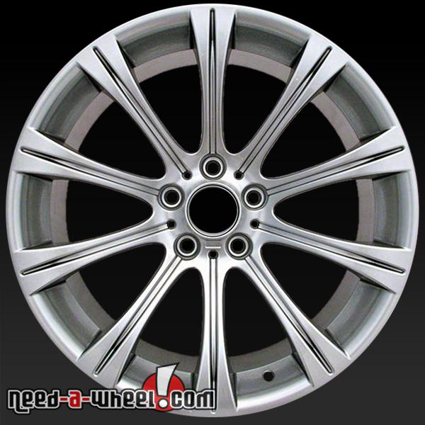 19x9 5 bmw m5 wheels oem 2006 10 hypersilver rims 59547. Black Bedroom Furniture Sets. Home Design Ideas