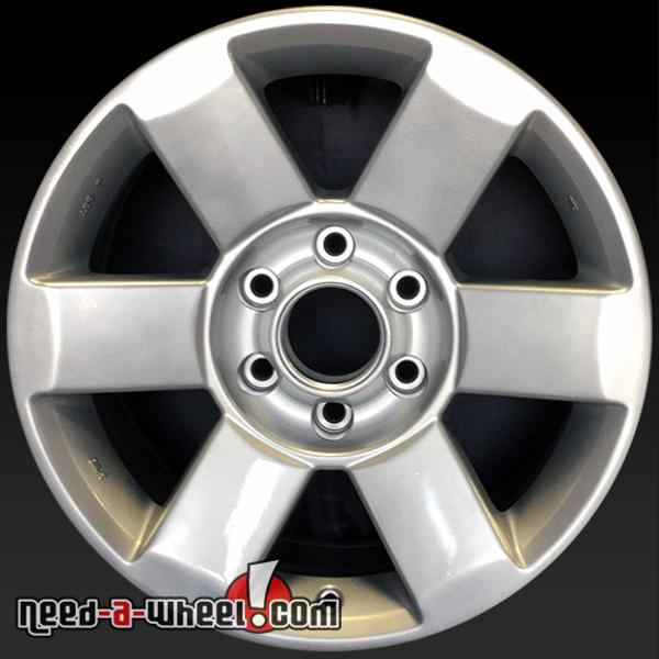 18 nissan armada wheels oem 04 07 silver stock rims 62439. Black Bedroom Furniture Sets. Home Design Ideas