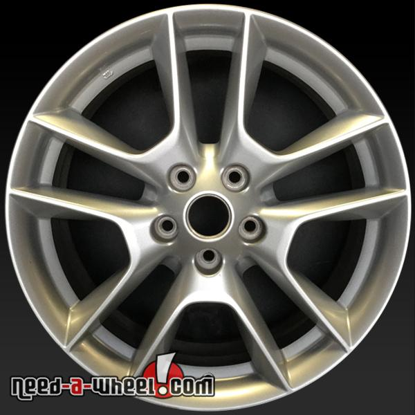 18 nissan maxima wheels oem 2009 2014 silver factory stock rims 62511. Black Bedroom Furniture Sets. Home Design Ideas