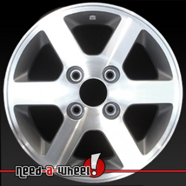 15 honda accord wheels oem 1997 machined rims 63760. Black Bedroom Furniture Sets. Home Design Ideas