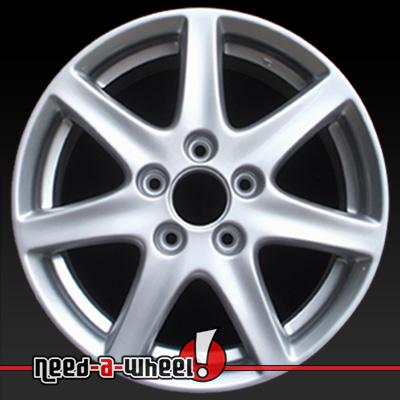 16 honda accord wheels oem 2003 2005 silver rims 63858. Black Bedroom Furniture Sets. Home Design Ideas