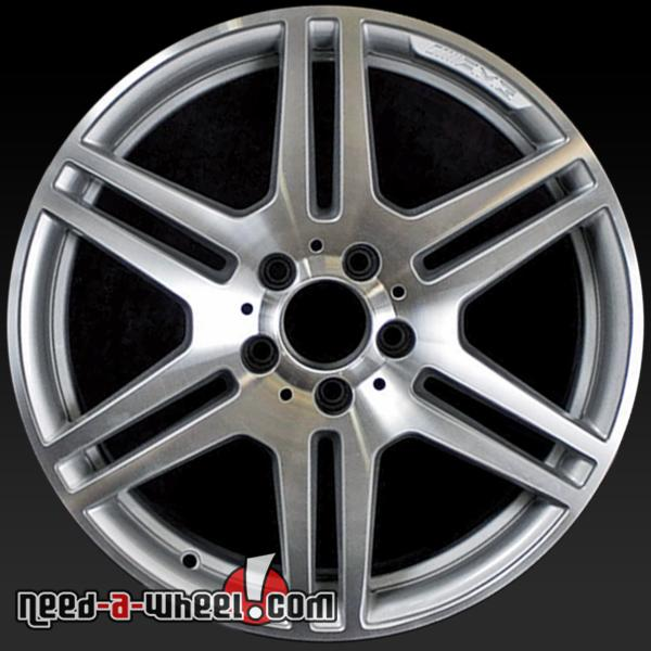 17x7 5 mercedes c300 c350 oem wheel 08 11 front machined for Mercedes benz c300 rims