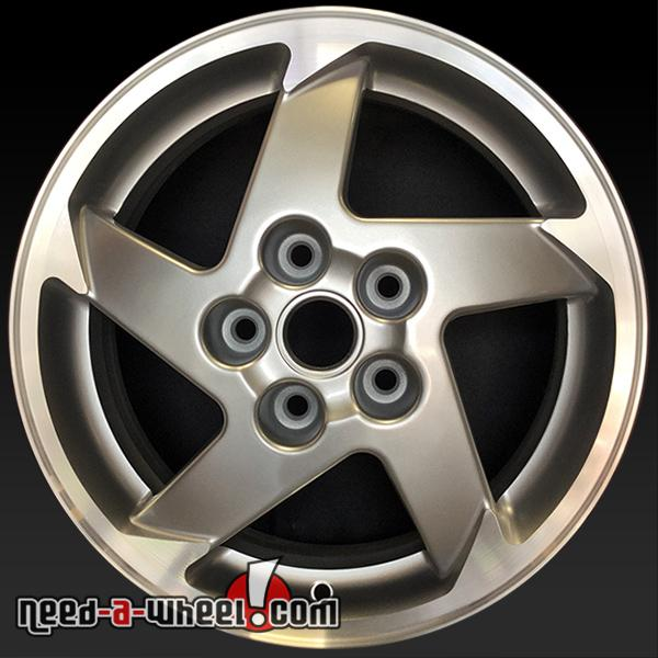 16 pontiac grand prix wheels oem 2004 06 silver rims 6563. Black Bedroom Furniture Sets. Home Design Ideas