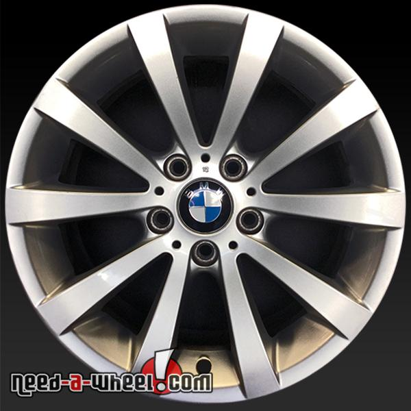 17x8 bmw 3 series wheels for sale 08 13 silver rims 71317. Black Bedroom Furniture Sets. Home Design Ideas