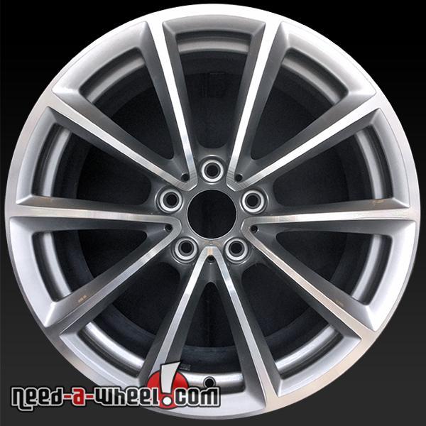"Bmw Z4 Rims: 19x9"" BMW Z4 Wheels Oem 2009-2014 Rear Silver Rims 71363"