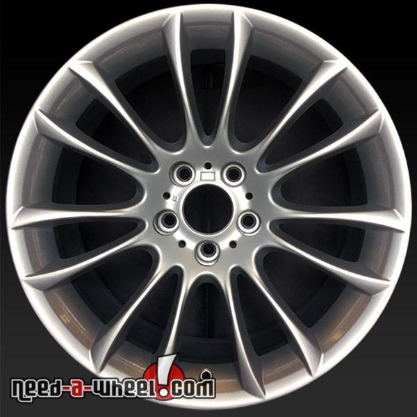"20x8.5"" BMW Wheels Oem 2009-2016 Silver Stock Rims 71379"