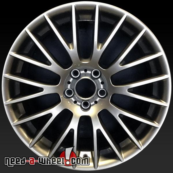"20x9"" BMW 528i 535i 550i 640i 650i OEM Wheel 2011-16 REAR"