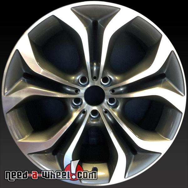 "Bmw X6m For Sale Used: 20"" BMW X5M Wheels Oem 2011-2014 Machined Rims 71447"
