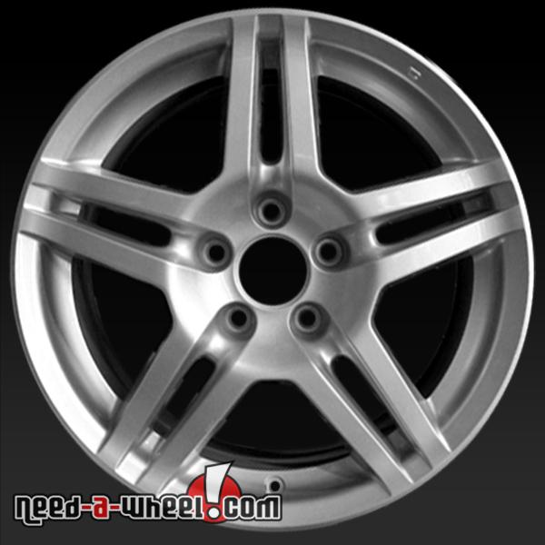 "17"" Acura TL Wheels Oem 2007-2008 Silver Rims 71762"