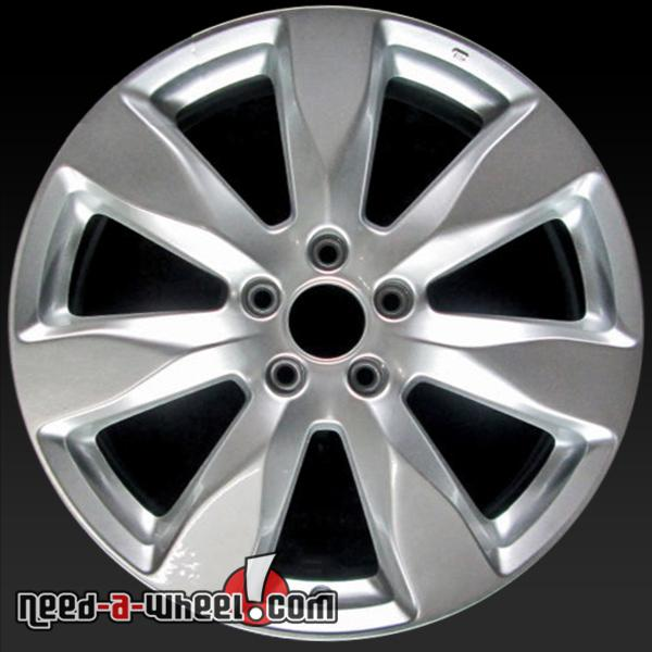 "19"" Acura MDX Wheels Oem 2014-2015 Silver Rims 71819"
