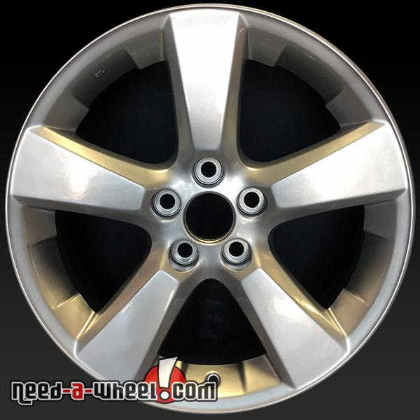 18x7 lexus rx330 rx350 oem wheel 2004 2009 silver stock rim 74171 426110e020 ebay. Black Bedroom Furniture Sets. Home Design Ideas