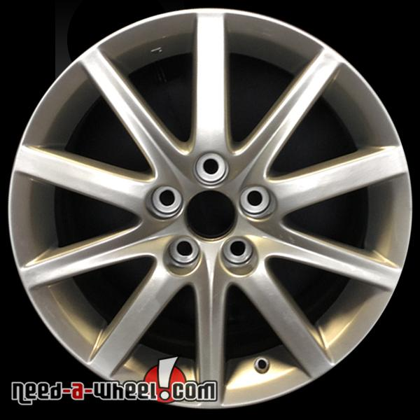 2006 2007 lexus gs300 wheels for sale silver rims 74185. Black Bedroom Furniture Sets. Home Design Ideas