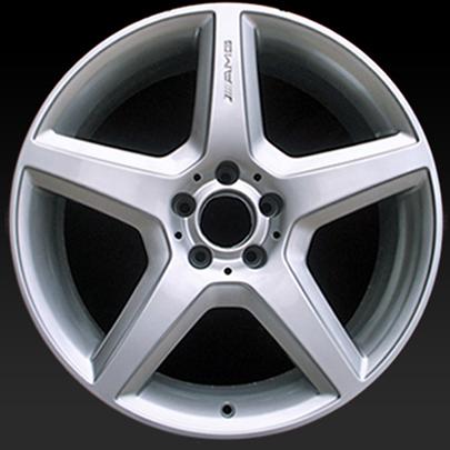 18 mercedes e550 wheels 2008 2009 silver oem rims 85011 for Mercedes benz e550 rims for sale