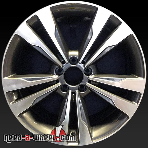 19 mercedes s550 wheels oem 2014 silver rims 85349 for Mercedes benz s550 rims for sale