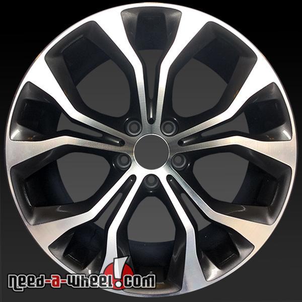 20x10 bmw x5 x6 oem wheel 14 15 front machined alloy stock rim 86055 36116853959 ebay. Black Bedroom Furniture Sets. Home Design Ideas