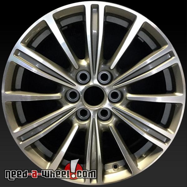 18x7 Cadillac XTS OEM Wheel 2017 17 Machined Charcoal