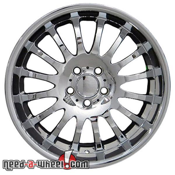 18 mercedes e230 replacement rims 94 09 chrome 5910376 for Mercedes benz replacement wheels