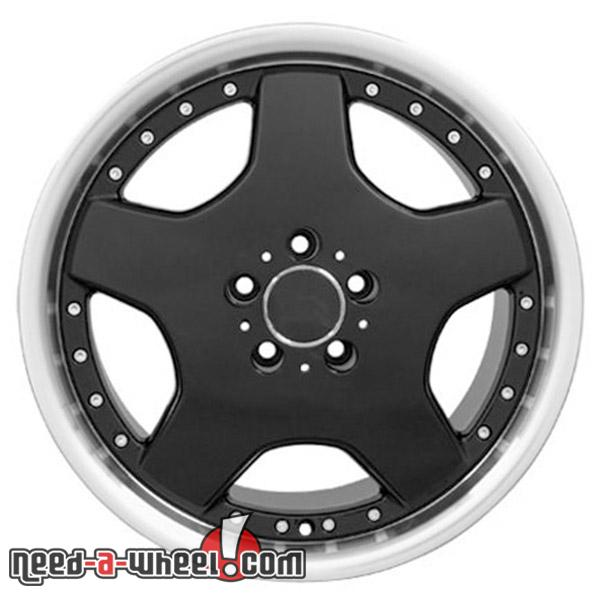 18 mercedes slk230 replacement rims 97 04 black 6710197 for Mercedes benz replacement wheels