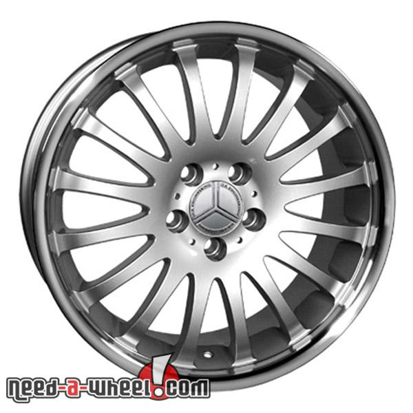 18 mercedes slk350 replacement rims 05 11 silver 9451338 for Mercedes benz replacement wheels