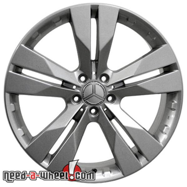20 mercedes ml320 replacement rims 07 09 silver 9457385 for Mercedes benz replacement wheels