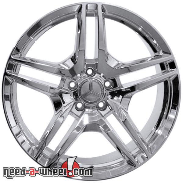 19 mercedes c250 replacement rims 12 14 chrome 9472091 for Mercedes benz replacement wheels