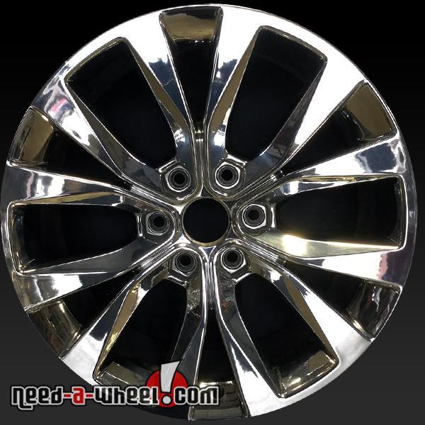 20 ford f150 oem wheels 2015 2016 used chrome stock rims 10003. Black Bedroom Furniture Sets. Home Design Ideas