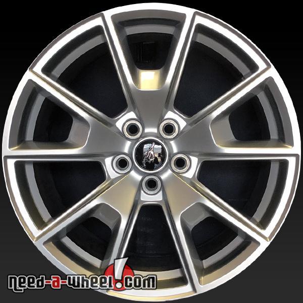 19 ford mustang oem wheels 2015 silver stock rims 10033. Black Bedroom Furniture Sets. Home Design Ideas