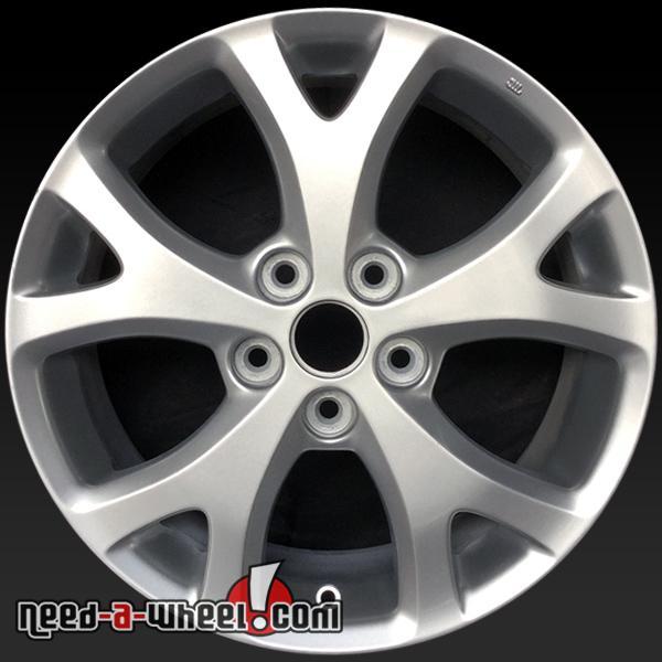 "For Sale 2008 Mazdaspeed 3 Wheels: 17x6.5"" Mazda 3 Oem Wheels 2007-2009 Silver Rims 64895"