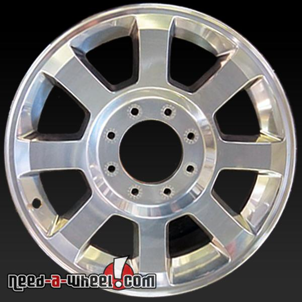 Ford F250 F350 oem wheels Polished stock rims 3693