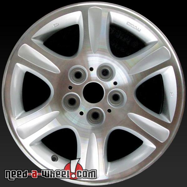 """2003 2008 Mazda 6 Wheels For Sale: 16x6.5"""" Mazda 626 Oem Wheels 2000-2002 Machined Rims 64821"""