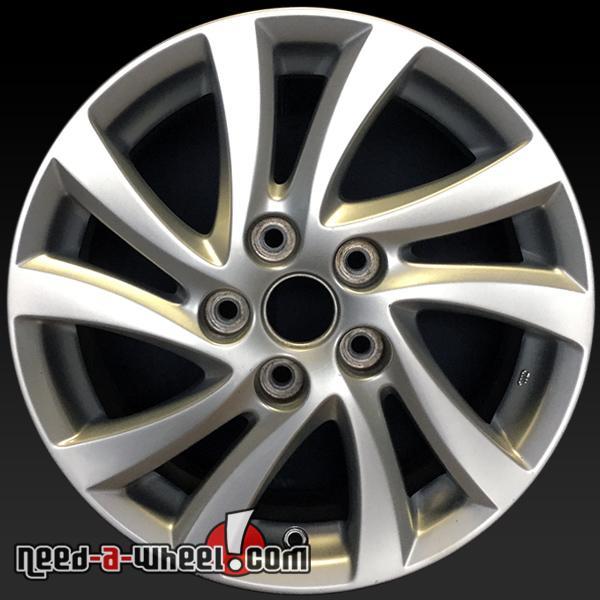 Mazda 3 Wheels >> 2012 2014 Mazda 3 Oem Wheels For Sale 16 Silver Stock Rims 64946
