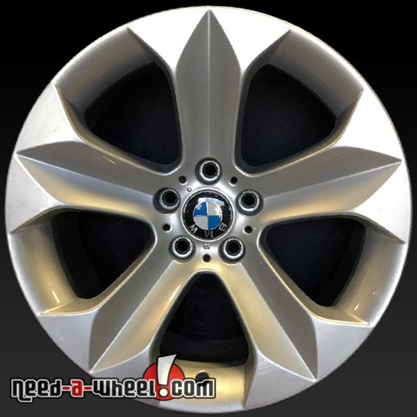 19x9 Quot Bmw X6 Oem Wheels 2008 2014 Front Silver Factory