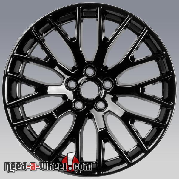 2015 Mustang Wheels >> 19x9 5 Ford Mustang Oem Wheels 2015 2017 Black Rims 10038