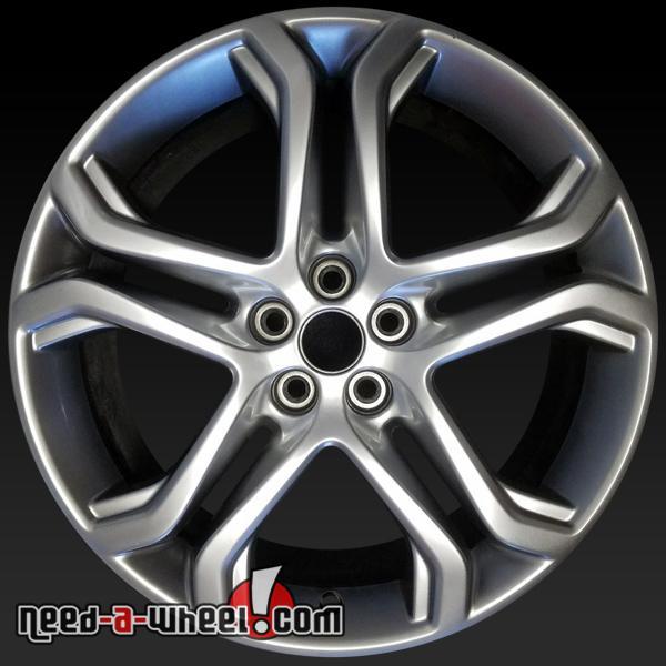 Ford Edge Oem Wheels   Silver Stock Rims