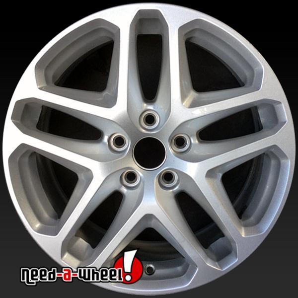 "17x8"" ford fusion oem wheels 2013-2016 silver rims 3957"