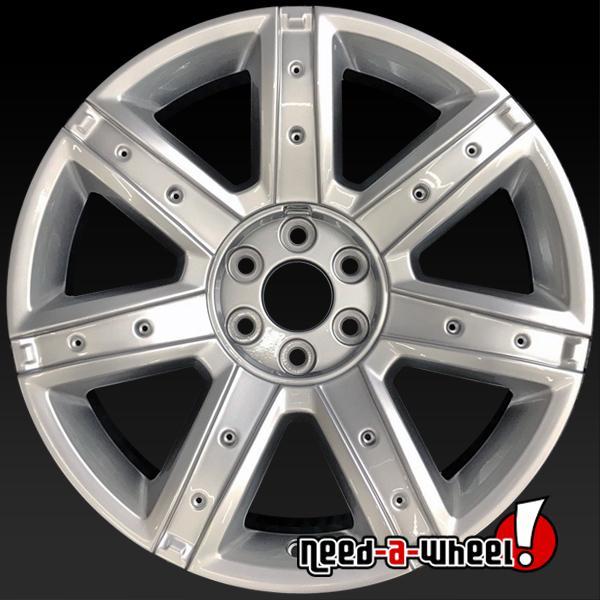 22 Cadillac Escalade Oem Wheels 2017 Silver Stock Rims 4739