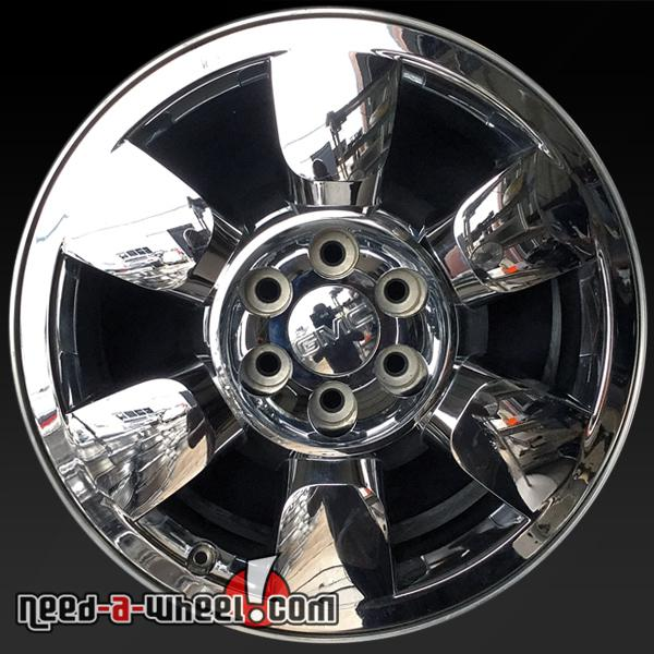 GMC Sierra oem wheels rims 5419