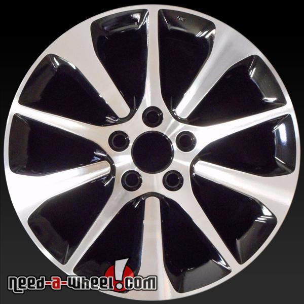 Honda Factory Rims >> 17x7 5 Honda Tlx Oem Wheels 2015 2017 Machined Rims 71826