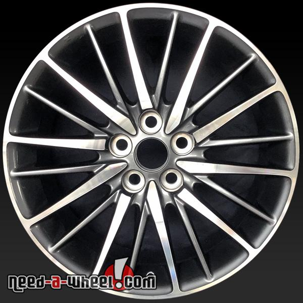 "2013 Lexus 460 For Sale: 19x8"" Lexus LS460 Oem Wheels 2013-17 Machined Charcoal"